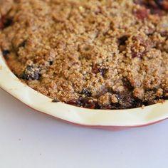 Gluten-Free Cherry-Coconut Crisp