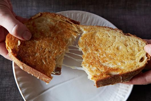 What Makes the Perfect Grilled Cheese Sandwich?