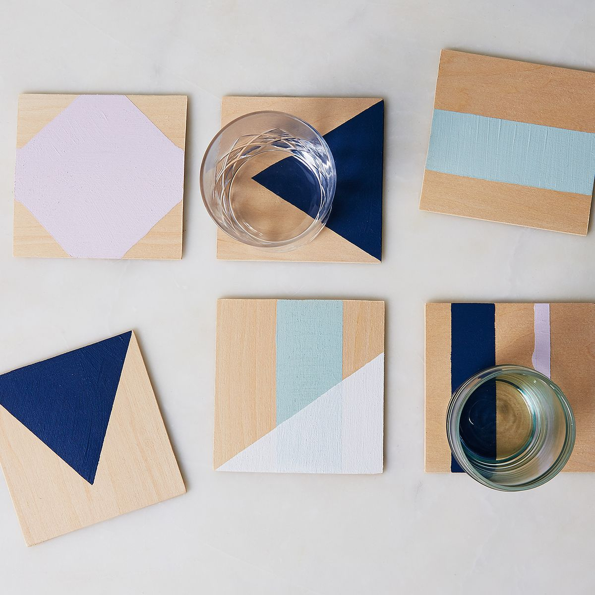 The Power Of Painter S Tape As Proven By These Diy Coasters