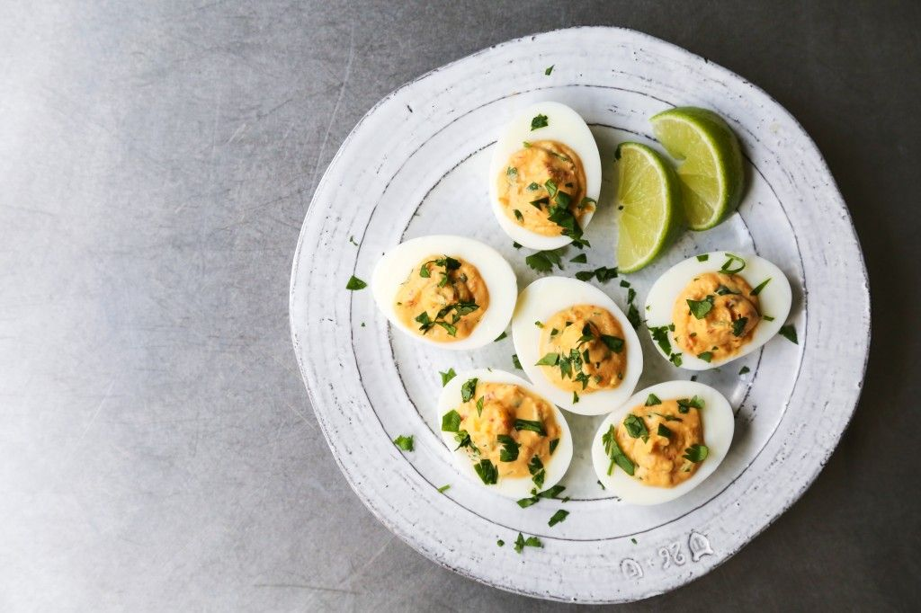 Deviled Eggs 3 Ways
