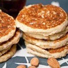 Gluten Free Lemon Almond Pancakes