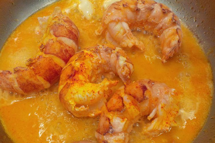 Giant shrimps