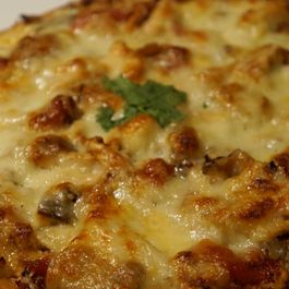 Spicy Chicken Pizza - Gluten-Free