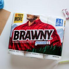Brawny Is Putting a Woman on Its Packaging for the First Time Ever