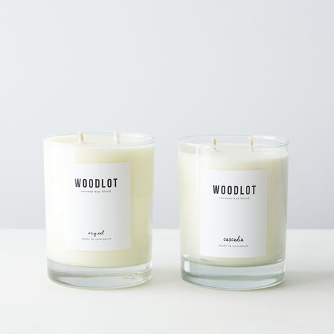 All-Natural Coconut Wax Candle
