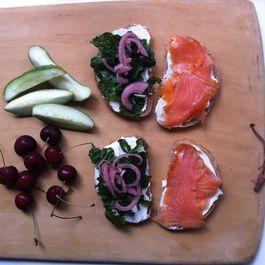 A Post-Modern Jewish Deli Sandwich