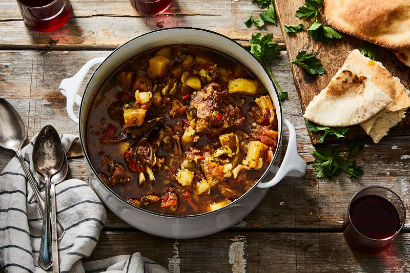 You don't need to be on a desert picnic to make this stew!