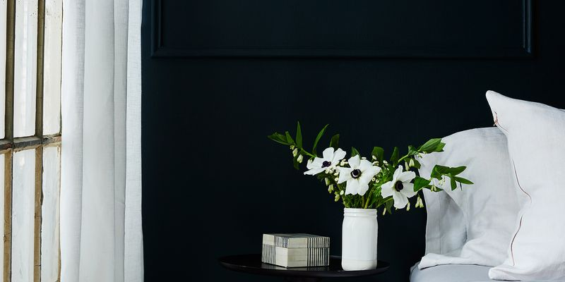 These simple linen curtain panels are available in our Shop.