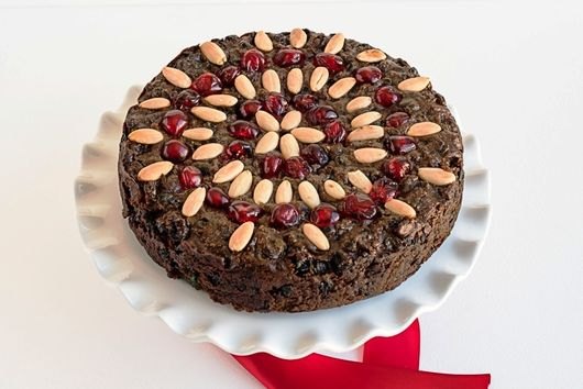 Flourless Chocolate Fruit Cake