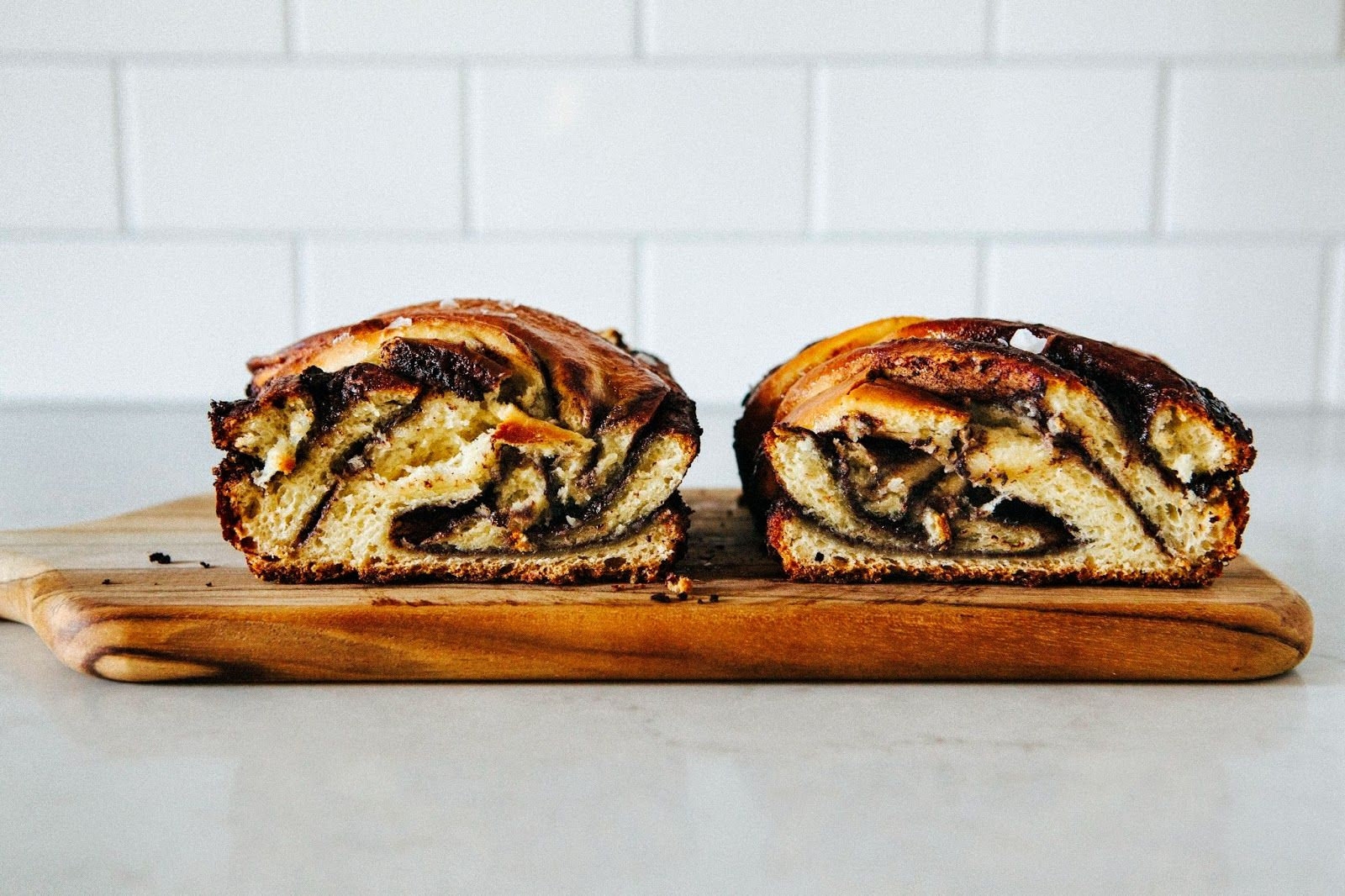 Salted Pumpkin Chocolate Babka