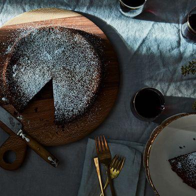 Elizabeth David's Chocolate Cake