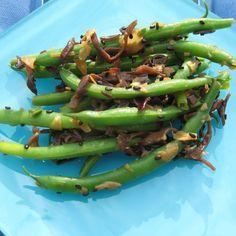 Asian Pantry Green Bean Salad