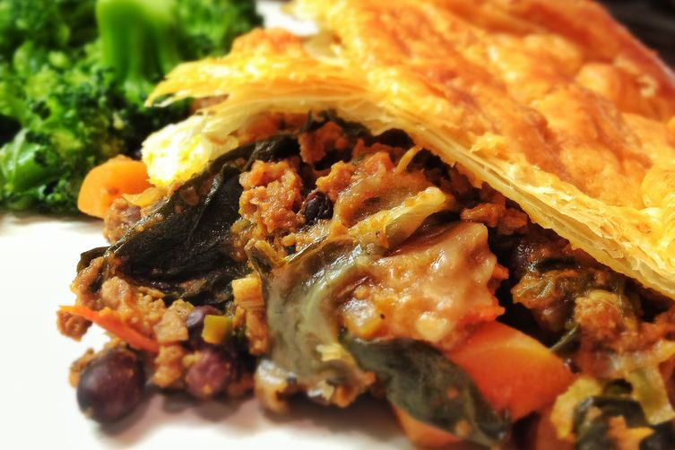 Chilli Con Spinach Pie