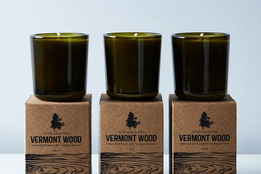 Vermont Wood Candles & Gift Box