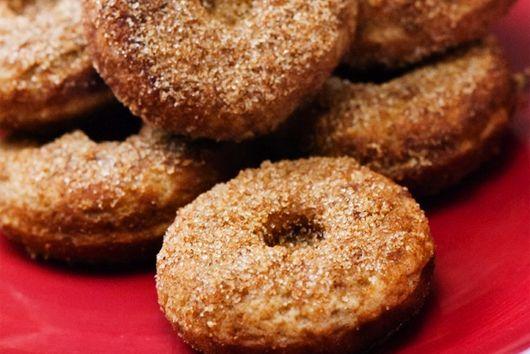 baked mini gluten free vegan vanilla donuts