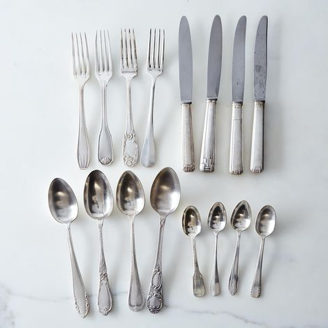 Vintage Silver-Plated French Flatware