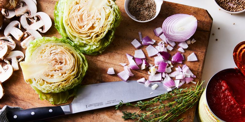 Plus, a fresh, spring-y take on cabbage rolls.