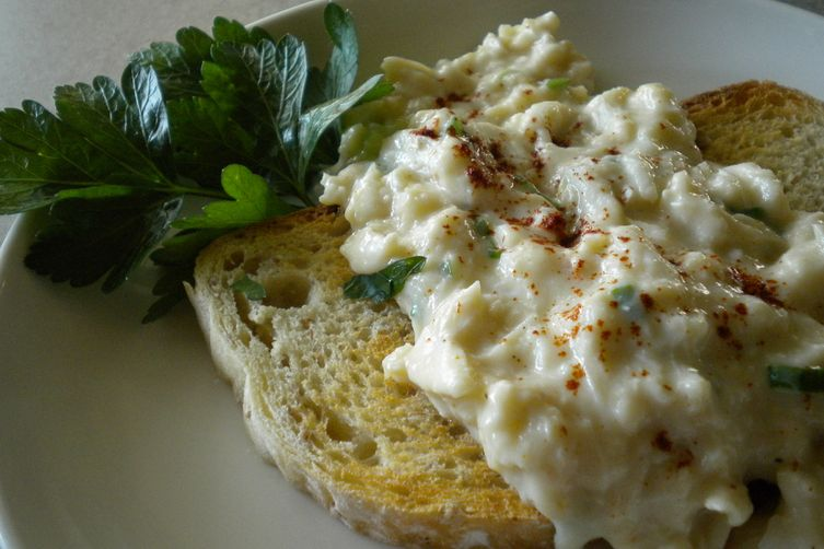 Deviled Crab on Toast