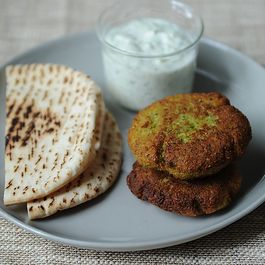 World's Easiest Falafel and Tzatziki