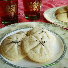 Persian Rice Cookies (Naan-e Berenji) - Gluten Free