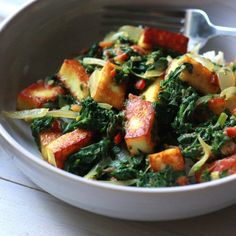 Creamy Spinach and Paneer