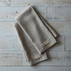 Heirloomed Linen Tea Towels (Set of 2)