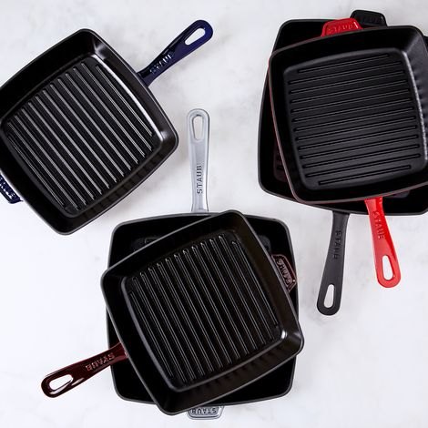 Staub Cast Iron Square Grill Pan