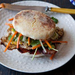 Banh Mi Inspired Breakfast Sandwich