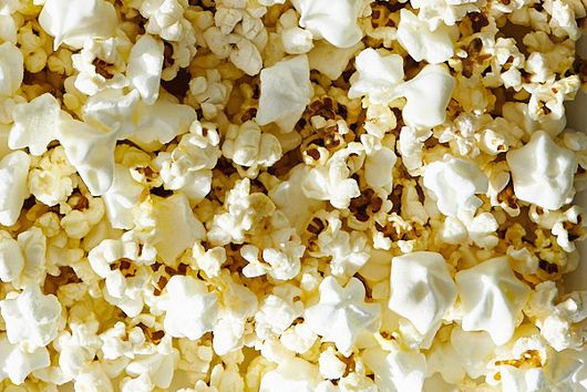 Sweet-and-Salty Popcorn with Mini Meringues