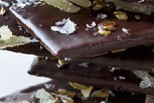 Chocolate Wafers With Ginger, Fennel And Sea Salt