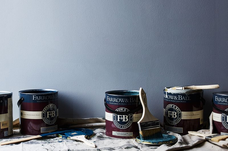 What color gets your creative juices flowing? Our co-founder Amanda loves this hue, Hague Blue, from Farrow & Ball.