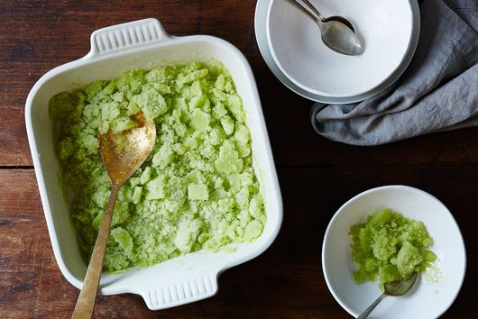 Celery Granita