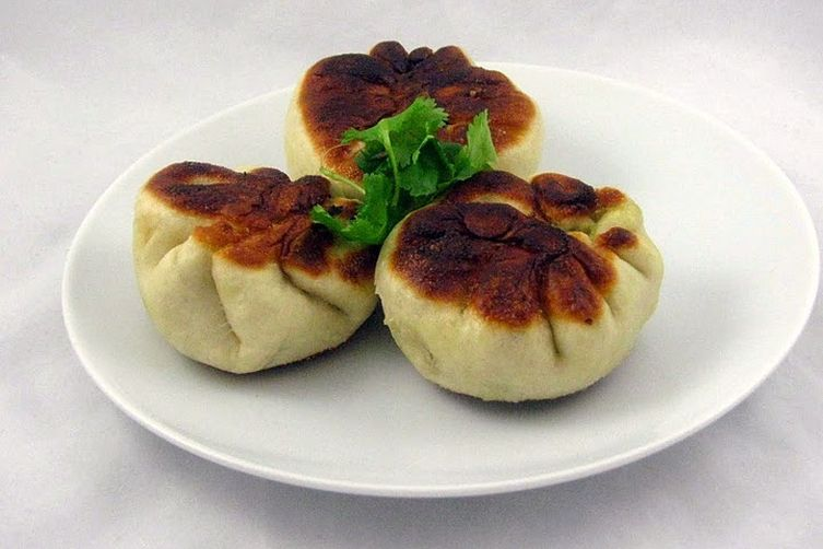 Chinese Beef and Chard Buns