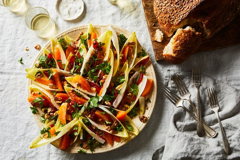 Orange, Parsley & Walnut Salad