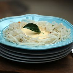 Nutty Rice Noodles with Gingery Coconut Yogurt Sauce