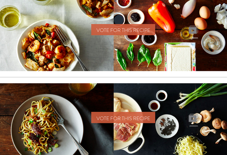 Finalists: Your Best Recipe with Noodles