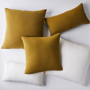 Stonewashed Linen Pillow Covers Pillows Home Decor Hawkins Ny Shop Food52 On Food52