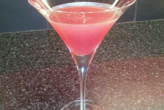 Pomegranate Citrus Martini (a.k.a. The Floor Flooder)