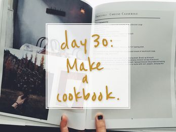 Out of Gift Ideas? Reminder: You Can *Make* a Cookbook
