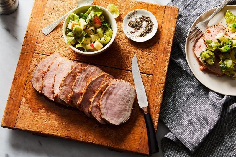 Smithfield Prime Boneless Fresh Pork Loin works well for all of the methods listed below.