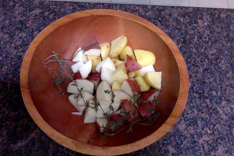 Miso Thyme Potato Soup