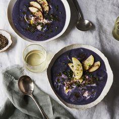 Peppery Purple Soup