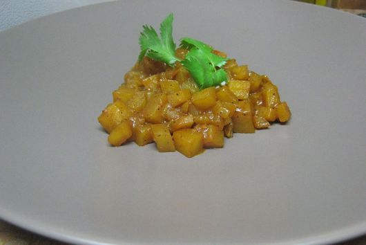 Curry Potato Risotto