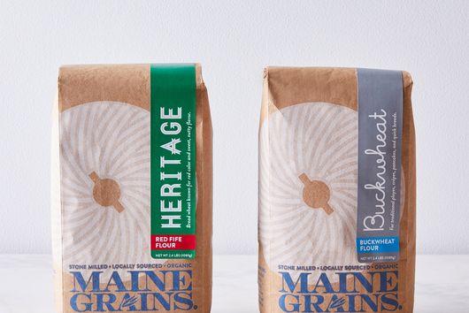 Organic Red Fife & Buckwheat Flour