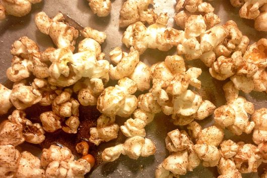 Sweet and Salty Nutmeg Popcorn
