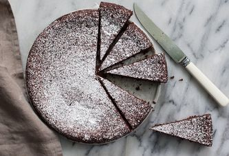 The Crazy Good Flourless Chocolate Cake with an Even Crazier Backstory