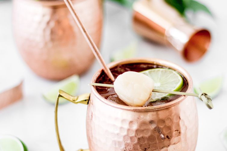 Lychee Moscow Mule