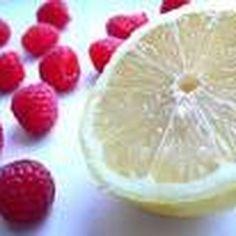 Lemon Zinger Pie with Raspberry Topping