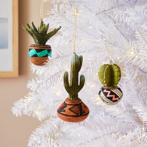 Vintage-Inspired Plant Ornaments