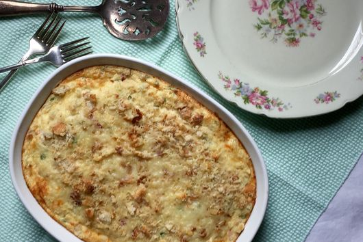 Souffléd Macaroni and Cheese